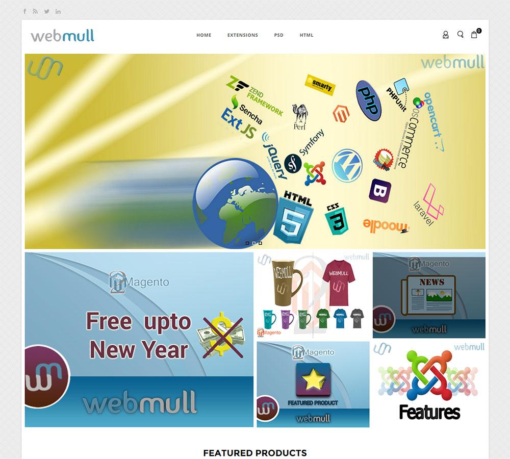 Webmull shop