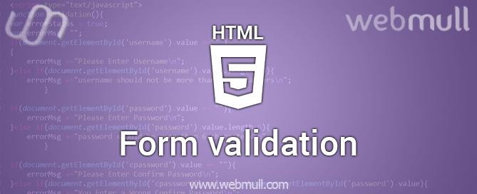 HTML-form-validation