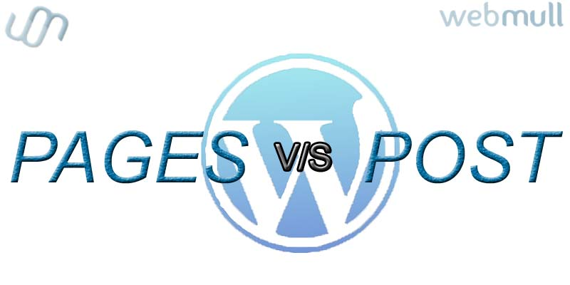 Wordpress: Difference between POST VS PAGES
