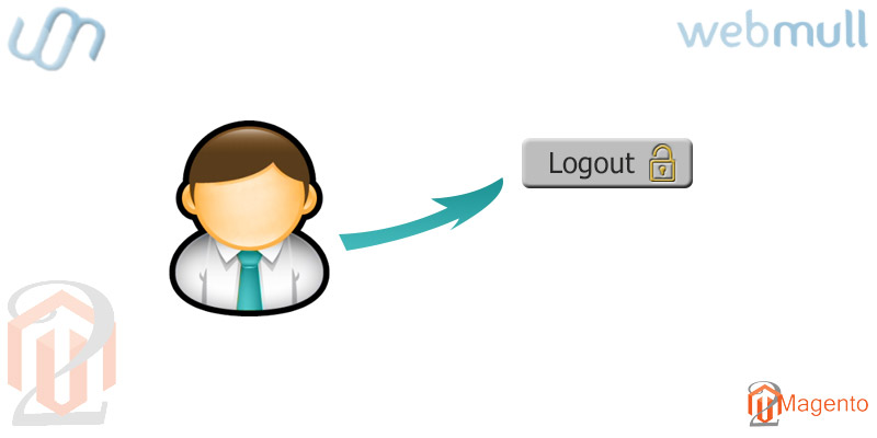Magento 2- Add customer logout link in My Account navigation